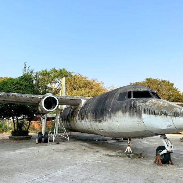Yangon Flugzeug-Wrack