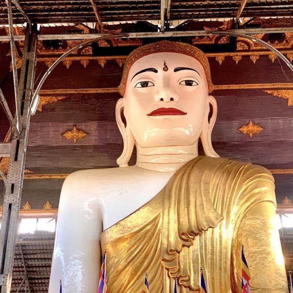Yangon Koehtatkyee Buddha Image Buddha Figur