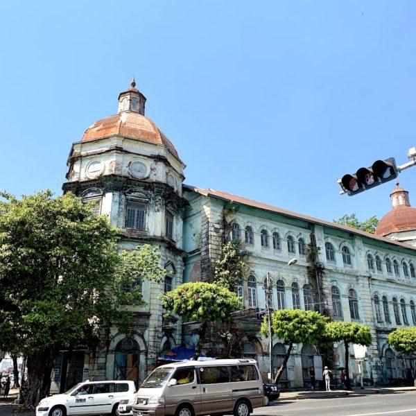 Yangon Kolonialhaus Myanmar