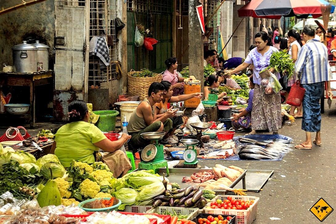 Yangon Markt China Town