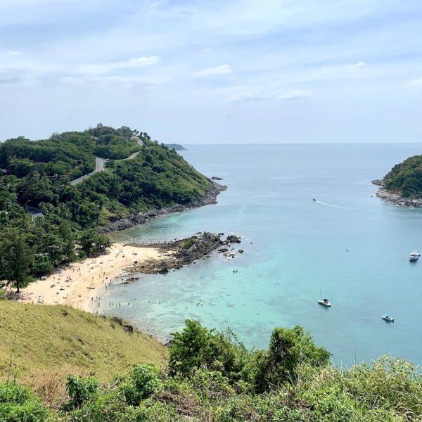 Yanui Beach Aussicht Phuket