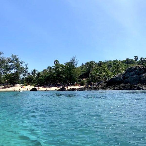 Yanui Beach Blick vom Meer