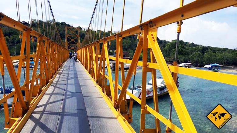 Yellow Bridge Nusa Ceningan