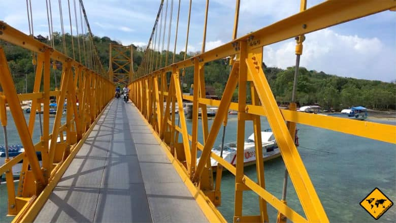 Yellow Bridge Nusa Ceningan