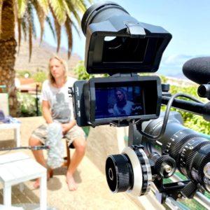 ZDF 37 Grad Jenny Christian unaufschiebbar Kamera Interview