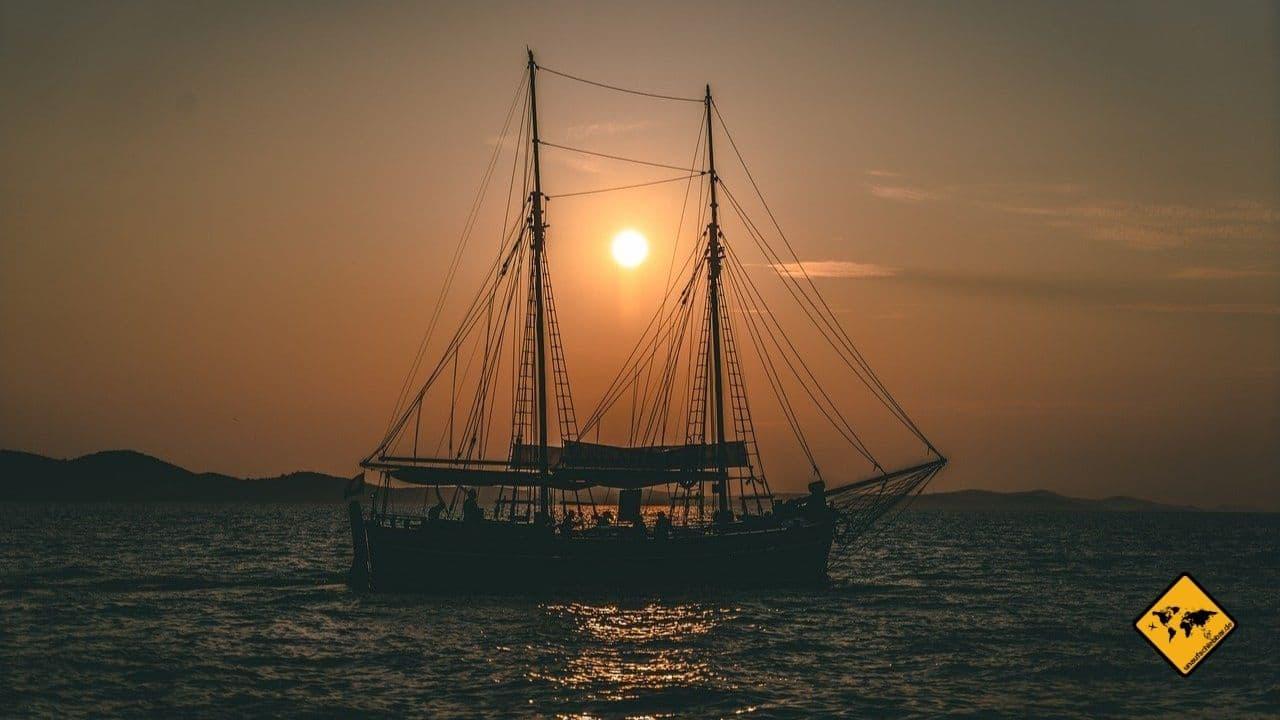 Zadar Kroatien Boot mieten