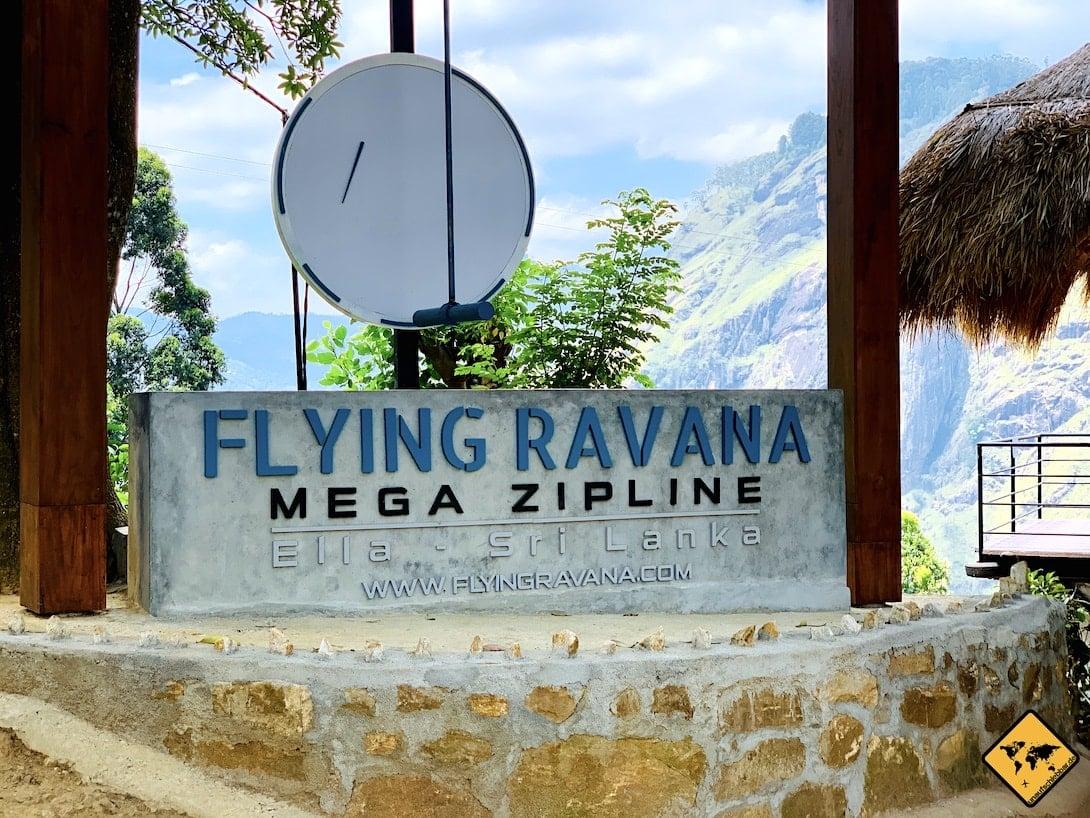 Zipline Flying Ravana Ella Sri Lanka