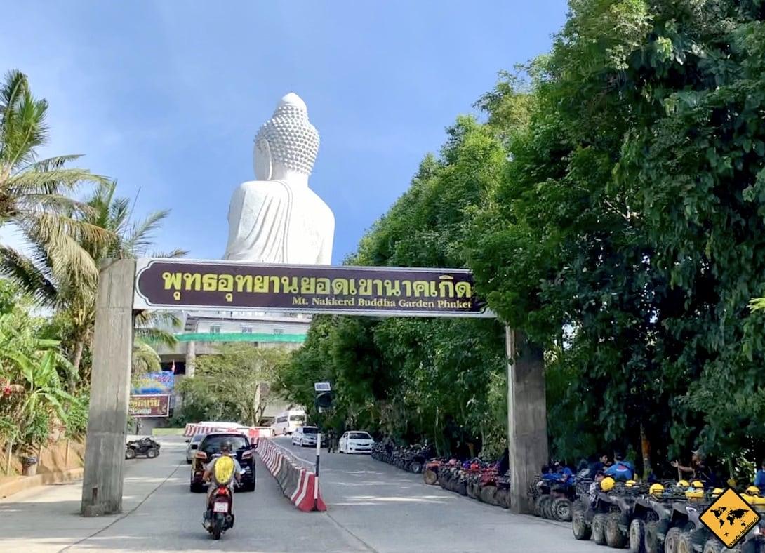 Zufahrt Big Buddha Phuket
