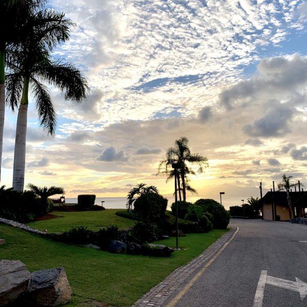 Zufahrtsstraße Playa Abama Teneriffa