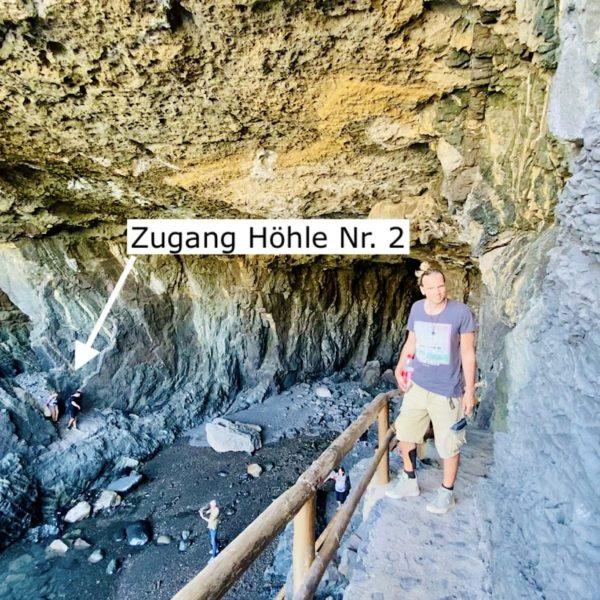Zugang Piratenhöhle 2 Ajuy