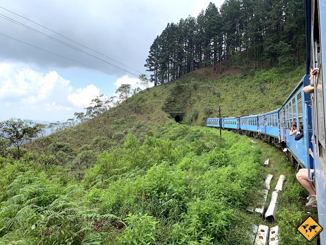 Zugfahrt Kandy nach Hatton