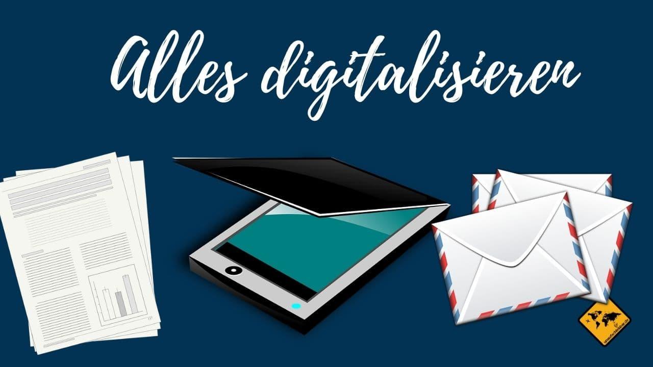 digitale Ablage alles digitalisieren
