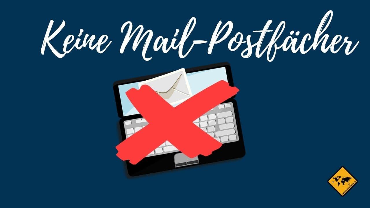 digitale Ablage keine mail Postfächer nutzen