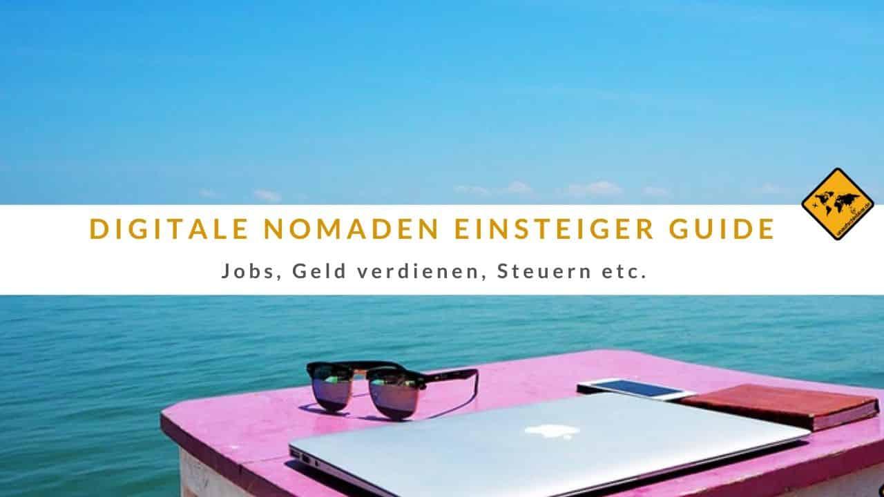 digitale Nomaden Einsteiger Guide