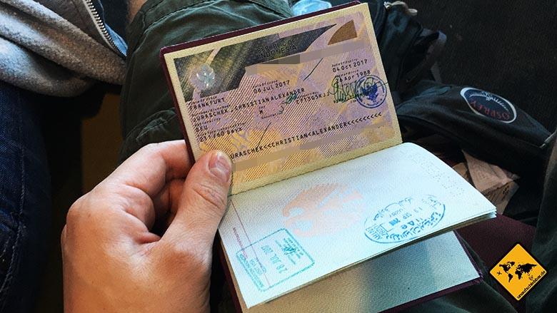digitale Nomaden Kritik Touristenvisum Indonesien Aufenthalt