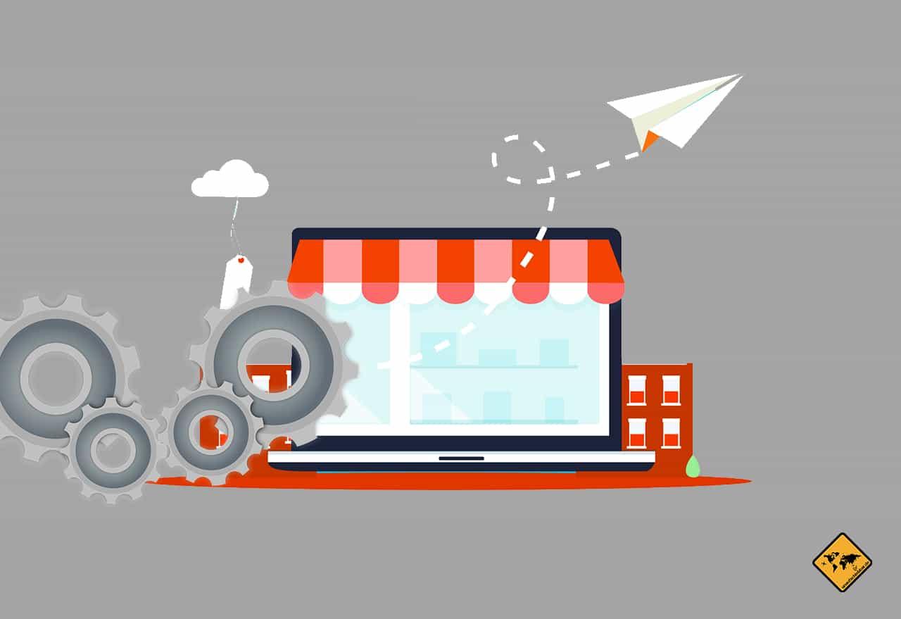 digitale Nomaden als Unternehmer mit Online Business
