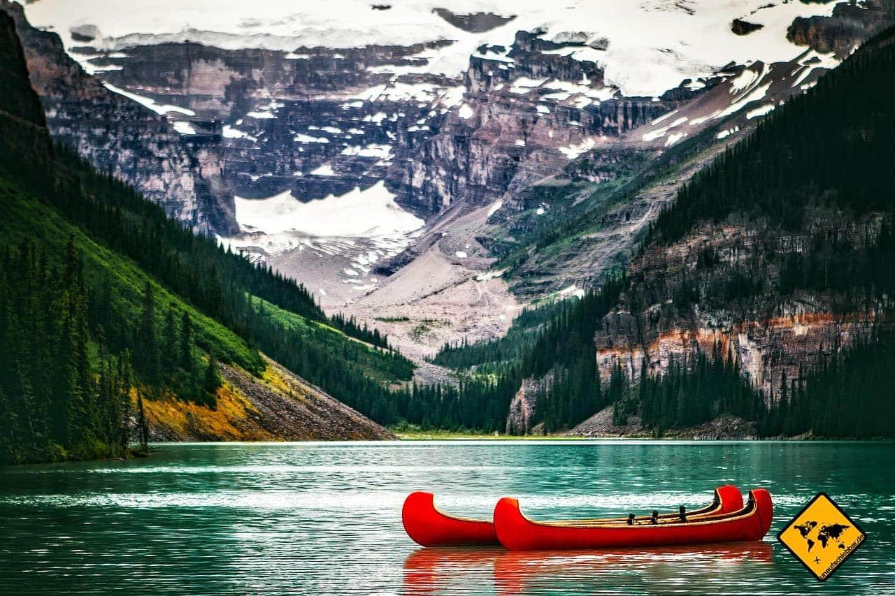 eta Kanada Visum Lake Louise