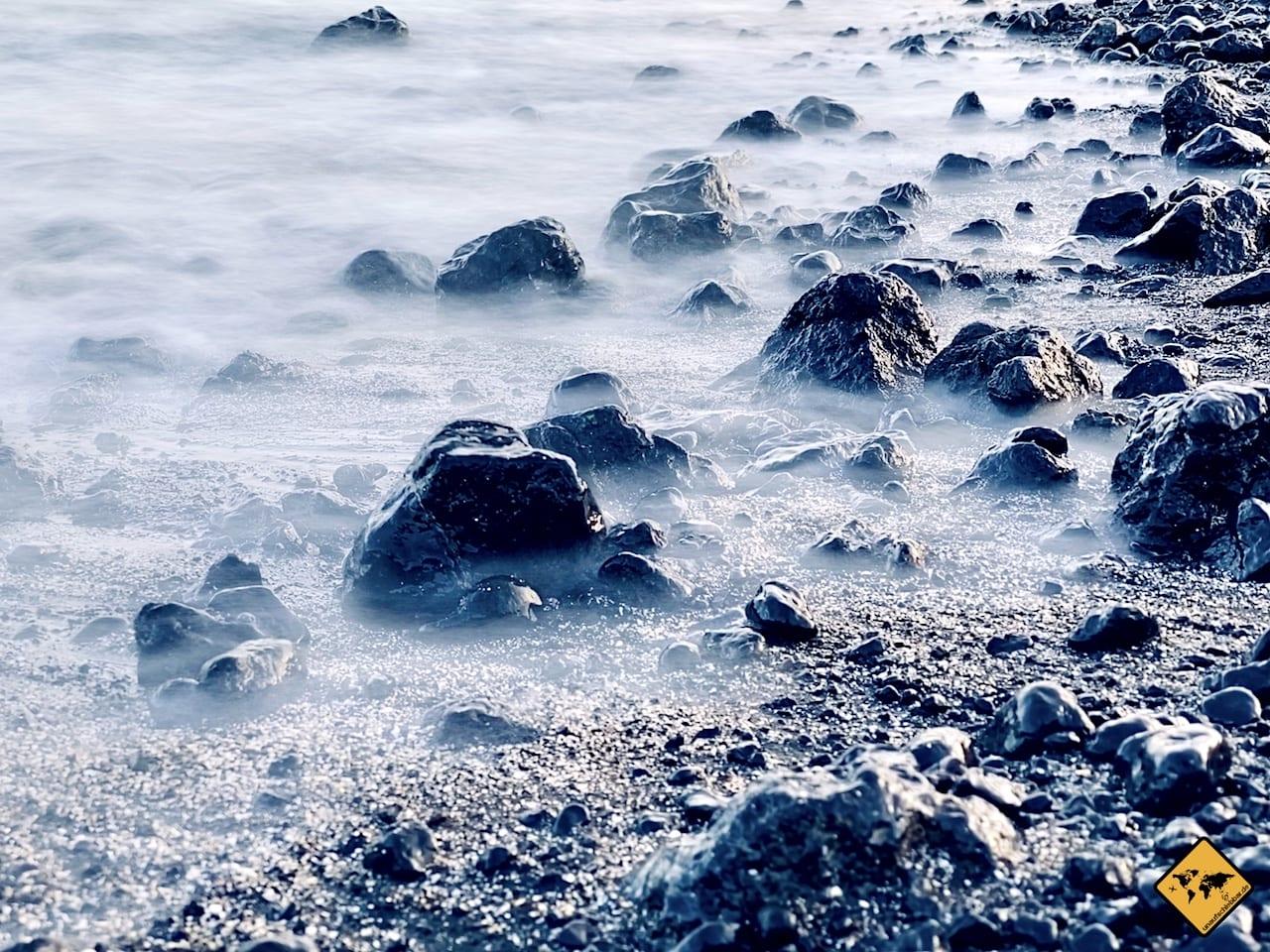 iPhone Foto Wasser weichgezeichnet