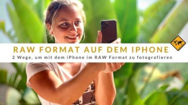 2 Wege, um mit dem iPhone im RAW Format zu fotografieren