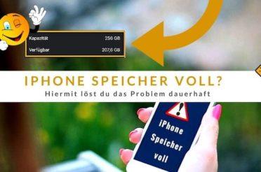 iPhone Speicher voll? Hiermit löst du das Problem dauerhaft