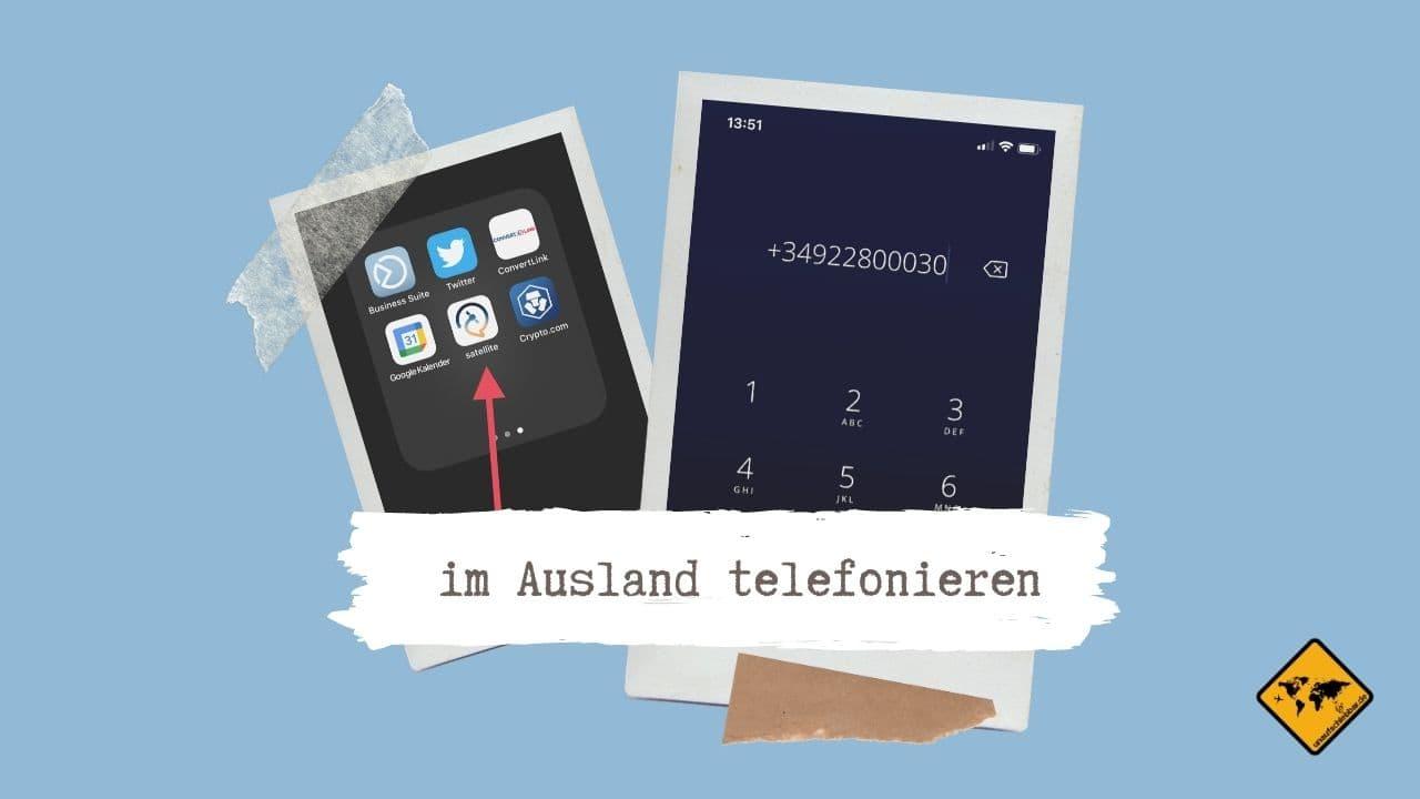 kostenlos im Ausland telefonieren App Festnetz