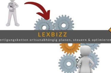 lexbizz: Fertigungsketten ortsunabhängig planen, steuern & optimieren