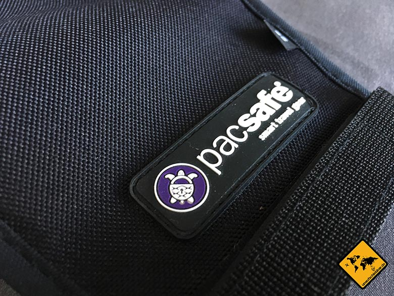 pacsafe 55l Test Review Logo