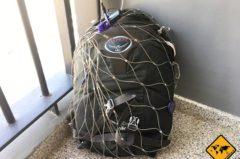 Pacsafe Test mit einem 55l Rucksack: lohnt sich der Diebstahlschutz?