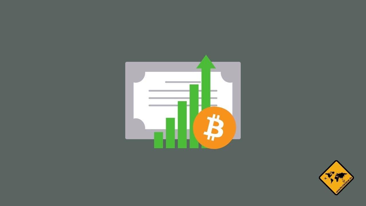 passives Einkommen Bitcoin Crypto