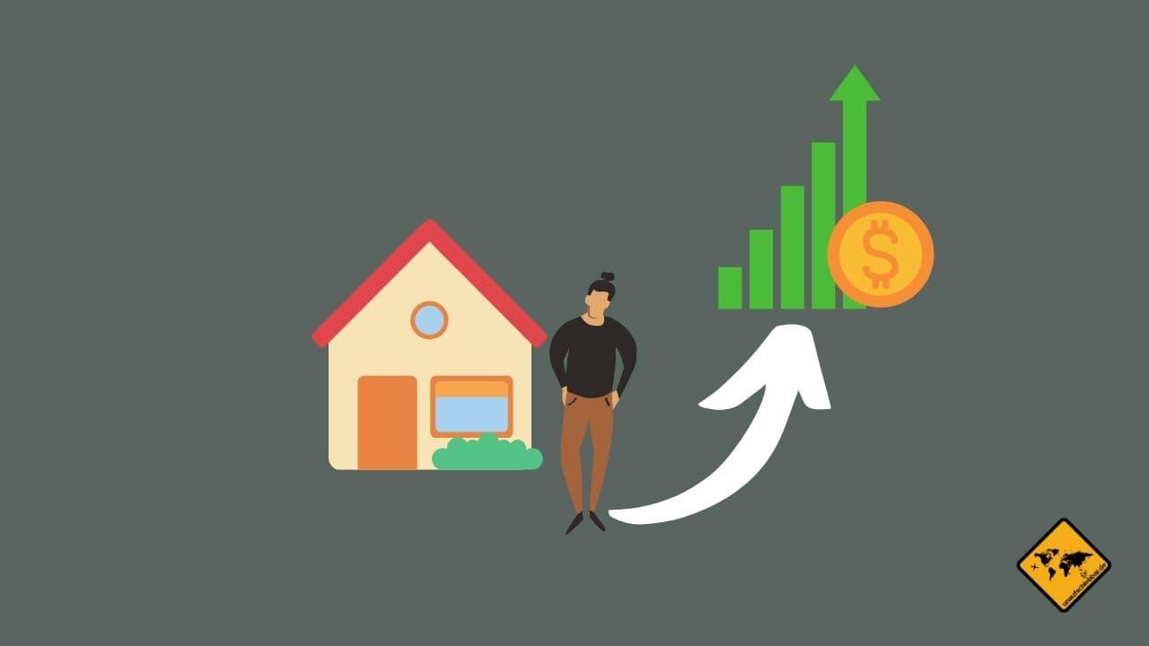 passives Einkommen Lebenshaltungskosten