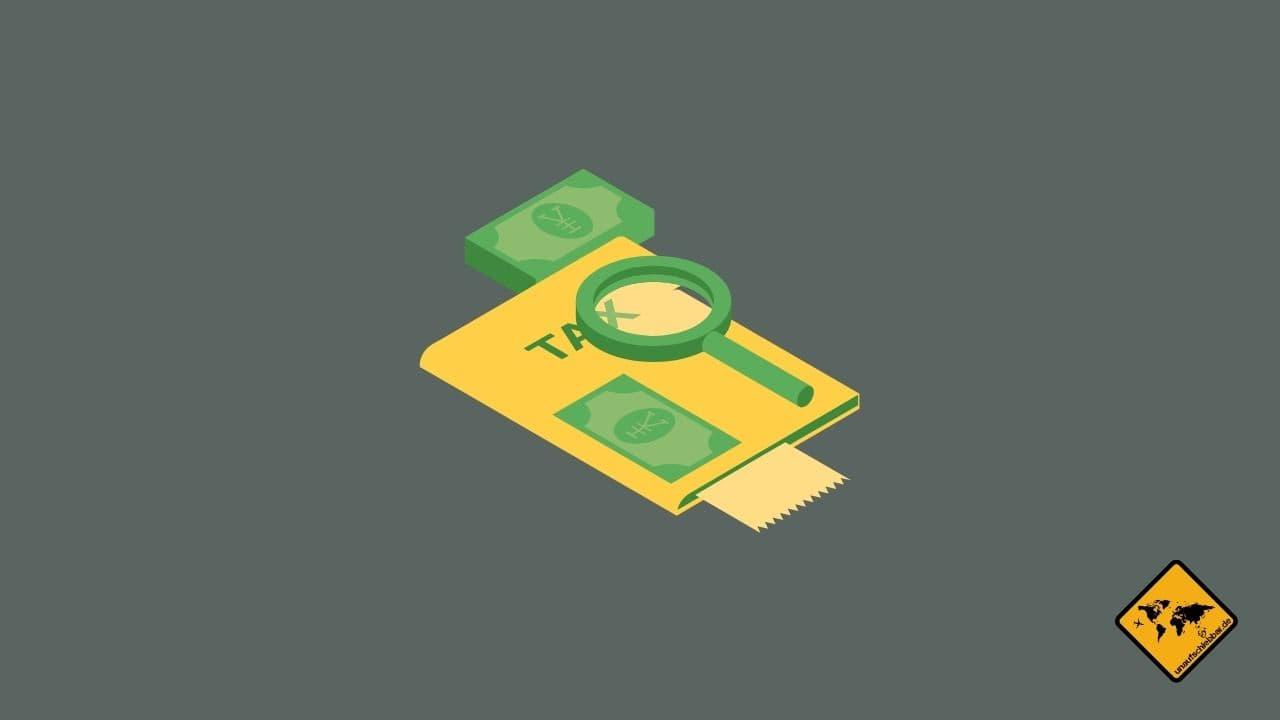 passives Einkommen Steuern