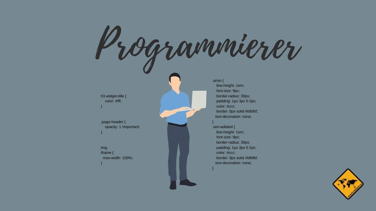 remote arbeiten Programmierer