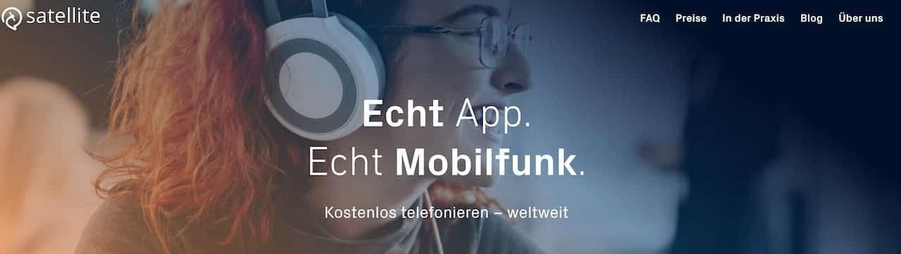 satellite.me weltweit kostenlos telefonieren