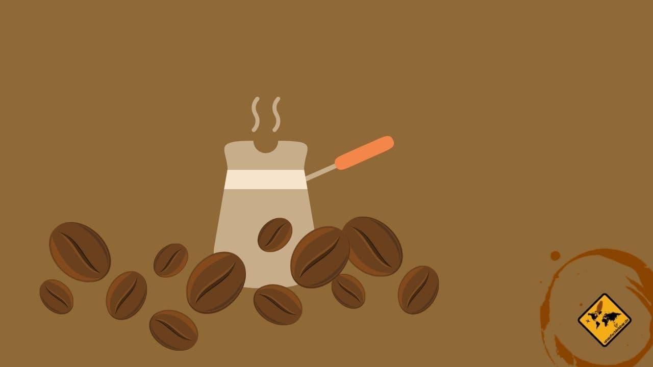 türkischer Kaffee auf Reisen zubereiten