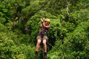 unaufschiebbar Jenny Dschungel Mexiko Zipline